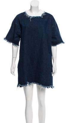 Marques Almeida Marques' Almeida Oversize Denim Dress
