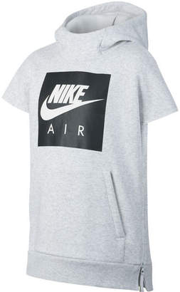 Nike Big Boys Air-Print Fleece Hoodie