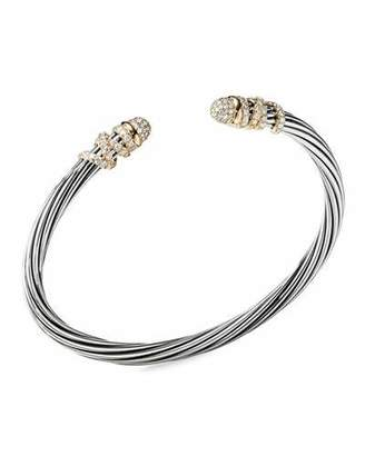 David Yurman DY Helena Diamond Bangle Bracelet