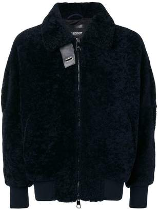 Neil Barrett shearling bomber jacket