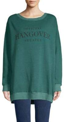 Wildfox Couture Graphic Oversized Sweater