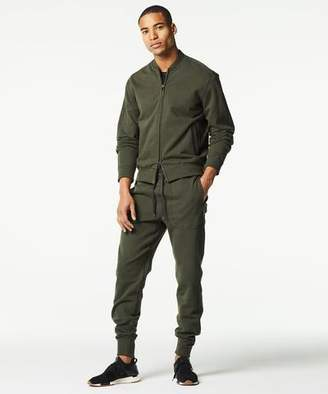 Todd Snyder Japanese Stretch Terry Sweatpant in Olive