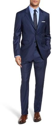 Men's Burberry Brit Millbank Trim Fit Wool Suit $1,995 thestylecure.com