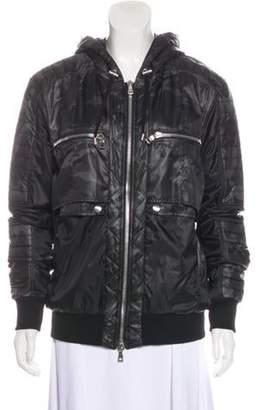 Balmain 2018 Zip-Up Jacket Grey 2018 Zip-Up Jacket