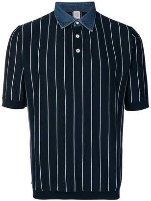 Eleventy striped polo shirt