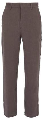 Phipps - Recycled Hemp And Organic Cotton Chino Trousers - Mens - Purple