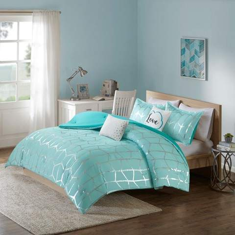Arielle Brushed Comforter Set