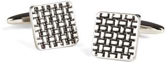 Brooks Brothers Basketweave Cuff Links