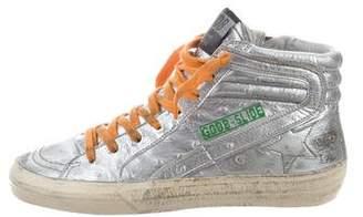 Golden Goose Embossed Slide Sneakers