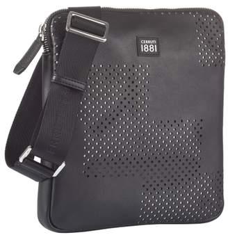 Martinez Black Messenger Bag