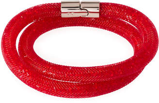 Swarovski Stardust Convertible Crystal Mesh Bracelet/Choker, Bright Red, Medium $60 thestylecure.com