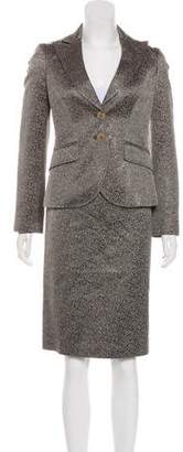 Etro Jacquard Skirt Suit