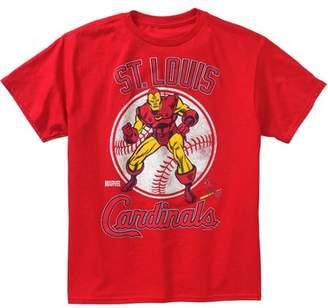 Iron Man MLB St. Louis Cardinals Boys' Tee