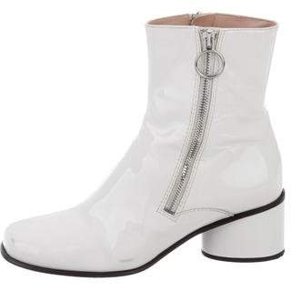Marc Jacobs Patent Leather Square-Toe Boots