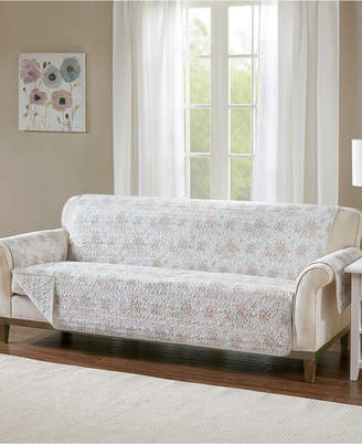 Madison Park Serendipity Quilted Reversible Printed Sofa Protector