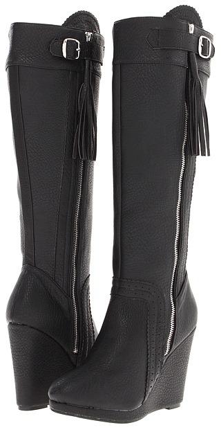 Type Z Yukiko (Black) - Footwear