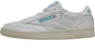 Classics Mens Club C 85 Vintage Trainers Chalk/Paper White/Glen Green/Excellent Red