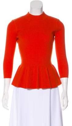 Tory Burch Wool & Angora-Blend Flared Top