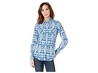 Rock and Roll Cowgirl Long Sleeve Snap B4S8004