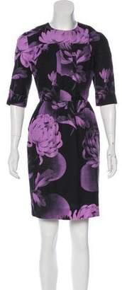 Jonathan Saunders Floral Mini Dress