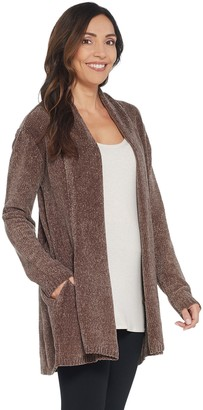 Anybody AnyBody Loungewear Chenille Relaxed Blazer Cardigan