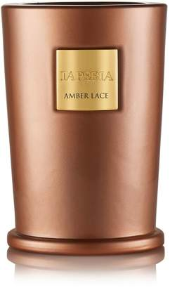 La Perla Amber Lace Candle