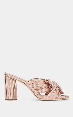 Loeffler Randall Women's Penny Knotted Lamé Sandals - Rose