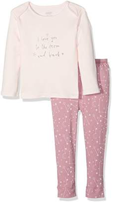Mamas and Papas Baby Girls' I Love You Pjs Pyjama Sets,6-9 Months