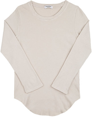 Mimobee Thermal-Knit Cotton T-Shirt $38 thestylecure.com
