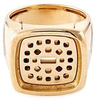 Pain De Sucre Fred 'Pain de sucre' 18k yellow gold signet ring