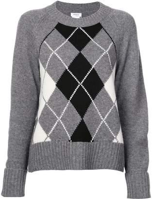 Akris Punto diamond pattern jumper