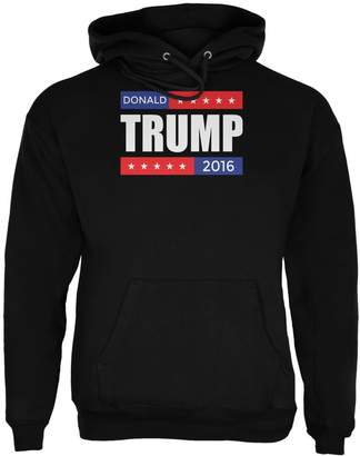 Old Glory Election 2016 Donald Trump Stacked Adult Hoodie