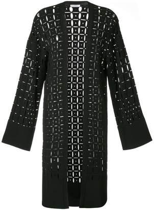 Versace pointelle-knit cardigan