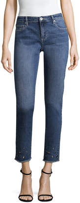 Firth Grommet Cotton Skinny Pant