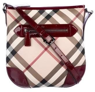 Burberry Super Nova Check Crossbody Bag