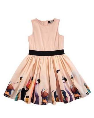 Molo Carli Bird-Print Dress, Sizes 2T/3T-11/12 $99.95 thestylecure.com