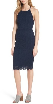 Women's Soprano Lace Body-Con Dress $59 thestylecure.com