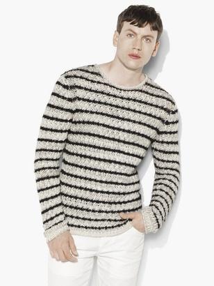 Striped Crewneck Sweater $498 thestylecure.com