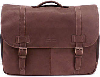 Kenneth Cole Reaction Colombian Leather Flapover Laptop Bag