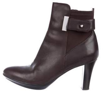 Aquatalia Leather Ankle Boots Leather Ankle Boots