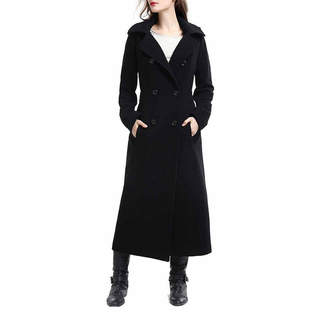 Blend of America BGSD Women's Mariel Plush Wool Long Coat