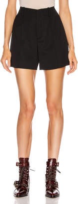Chloé Tailored Short in Black   FWRD