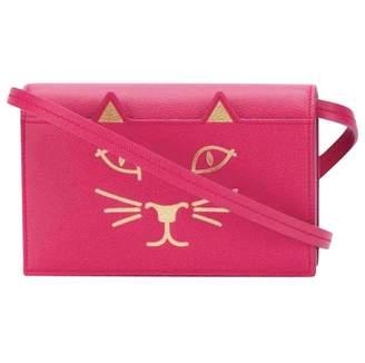 Charlotte Olympia Leather mini bag