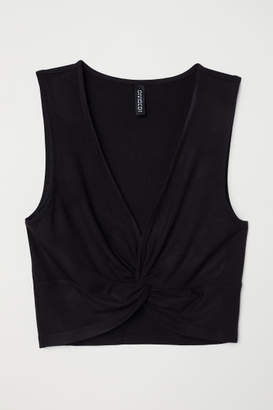 H&M Short Top - Black