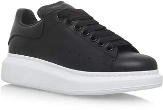 Alexander McQueen Leather Runway Sneakers