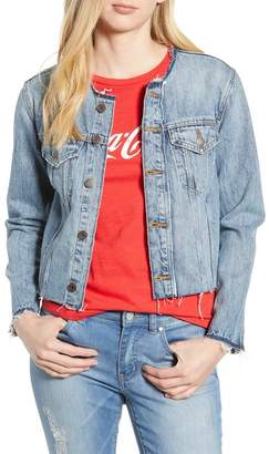 Lucky Brand Smart Trucker Denim Jacket