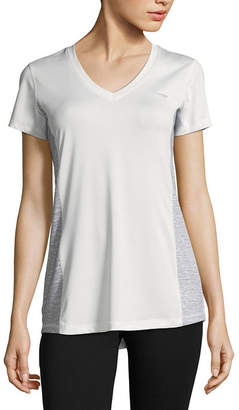 COPPER FIT Copper Fit-Womens V Neck Short Sleeve T-Shirt