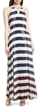 Women's Ted Baker London Aloes Rowing Stripe Maxi Dress $395 thestylecure.com