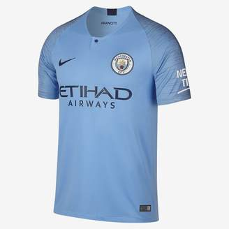 Nike 2018/19 Manchester City FC Stadium Home Men's Soccer Jersey