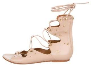 d924ca353cb Studded Gladiator Heels - ShopStyle